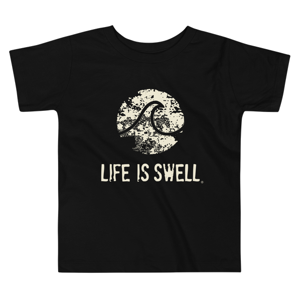 Life Is Swell Logo Little Kids Tee
