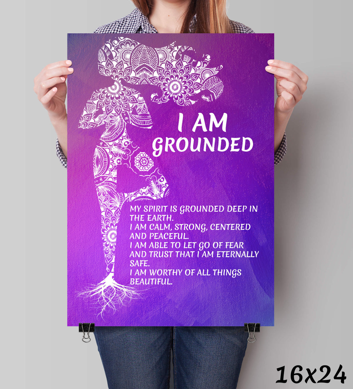 [LIMITED EDITION] I Am Grounded Wall Art Print