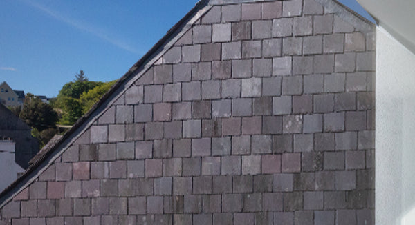 Slate Façade in KInsale, Co. Cork Reclaimed Blue Bangor