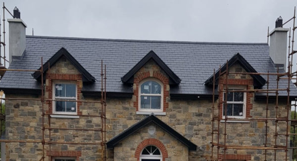 Springville, Co. Meath, Ireland, Natural Roof Slate