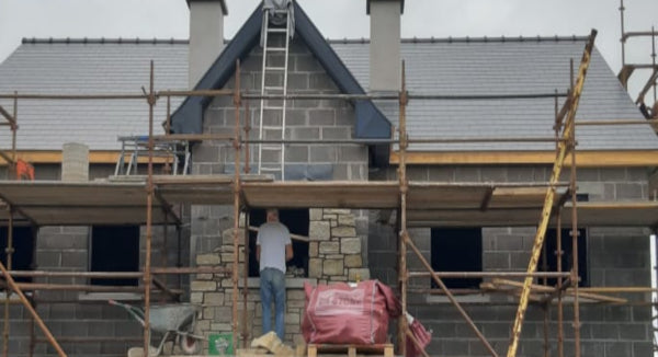 Arva Co.Cavan, Fibre Cement Slate, SVK Ardonit, Blue Black
