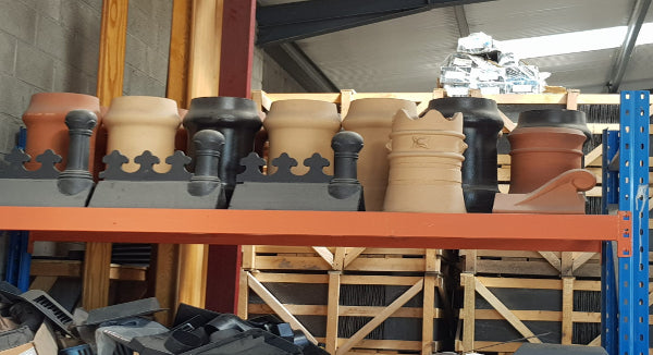 New Chimney pots Just Arrived at Slate Supplies