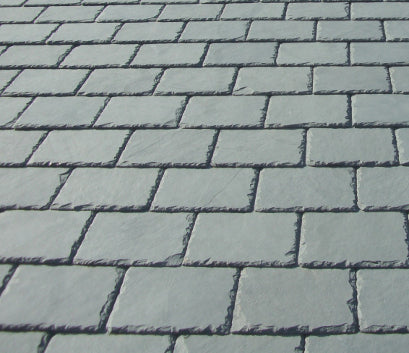 Santos Grey Green Natural Roof Slate 9mm 50 X 25 Slate