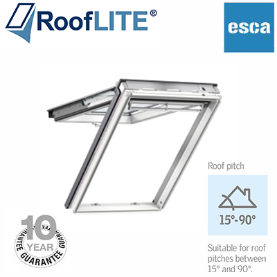 roof lite - top hung - fire escape - white paint,roof lite,top hung,fire escape ,white paint