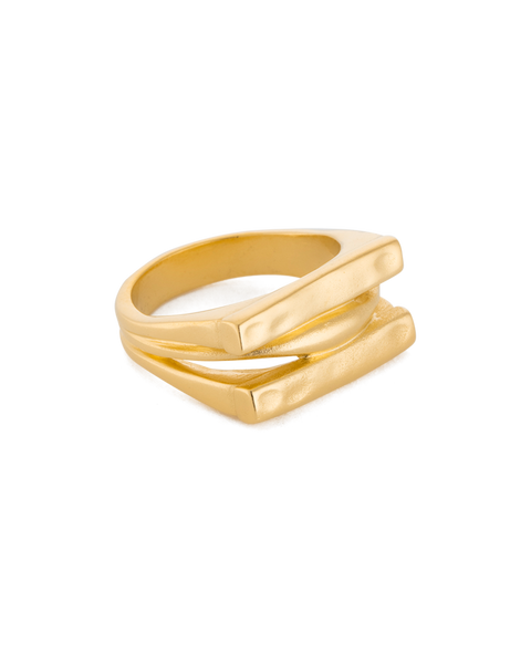 Elements Ring | 18K Gold Plated | Kirstin Ash