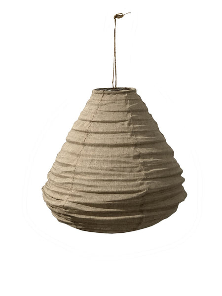 Fabric Lantern Pendant | Natural