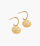 By The Sea Hoops | 18K Gold Plated | Kirstin Ash