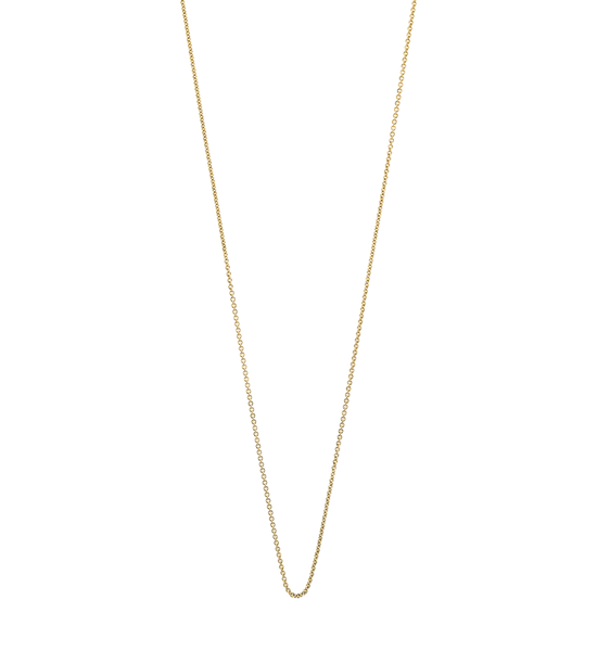 SOLID FINE CHAIN 14K GOLD