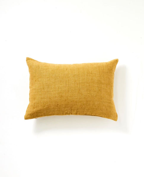 Christophe Linen Cushion | Mustard