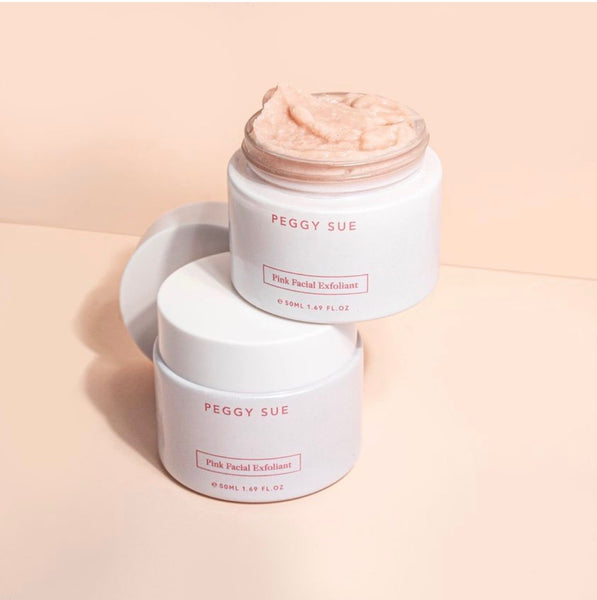 Pink Facial Exfoliant | Peggy Sue