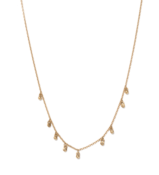 SEA MIST NECKLACE 9K GOLD