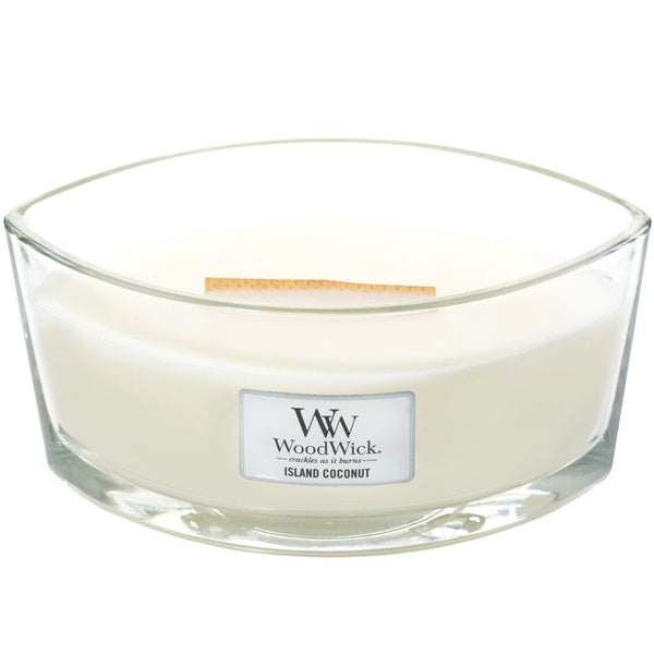 Island Coconut | Woodwick Candle