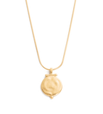 ENGRAVABLE POEM NECKLACE 18K GOLD VERMEIL