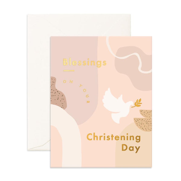 Christening Still Life | Card