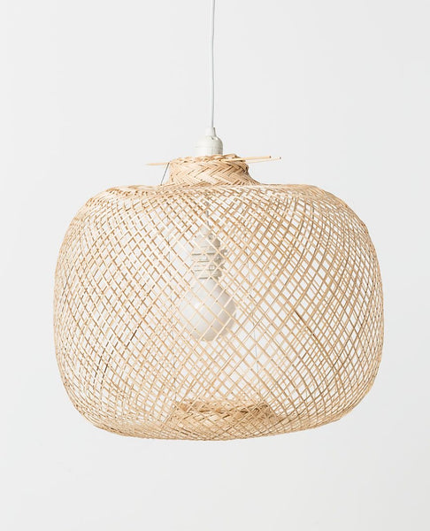 Laki Bamboo Pendant Shade | Natural | Pick up in store