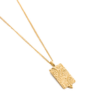 Marrakech Coin Necklace | 18K Gold Vermeil | Kirstin Ash