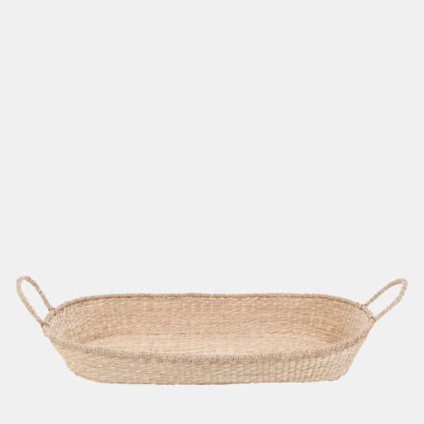 Nyla Seagrass Changing Basket