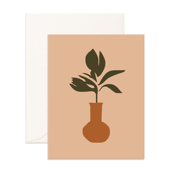 Still Life Ficus | Card