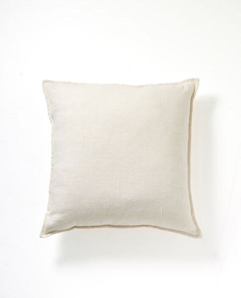 Christophe Linen Cushion | Ivory