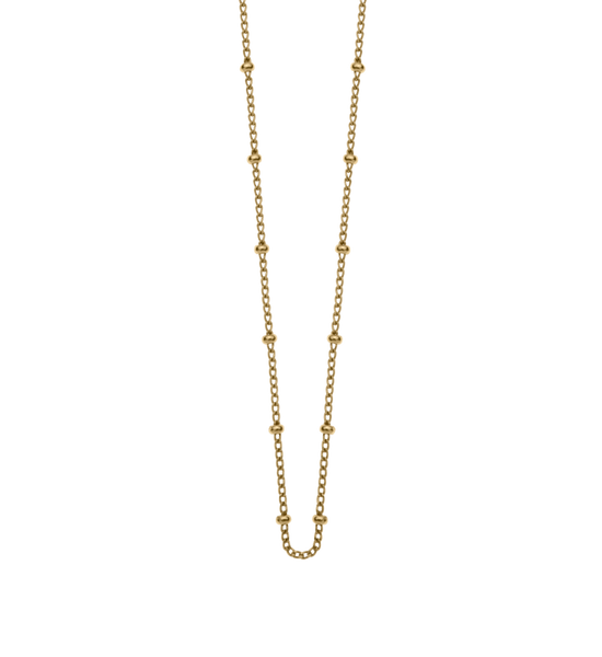 BESPOKE BALL CHAIN18K GOLD VERMEIL