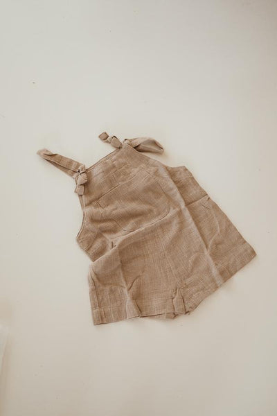 Short Marlo Overalls | Vintage Brown