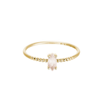 ROSE QUARTZ MARQUISE RING 14K GOLD