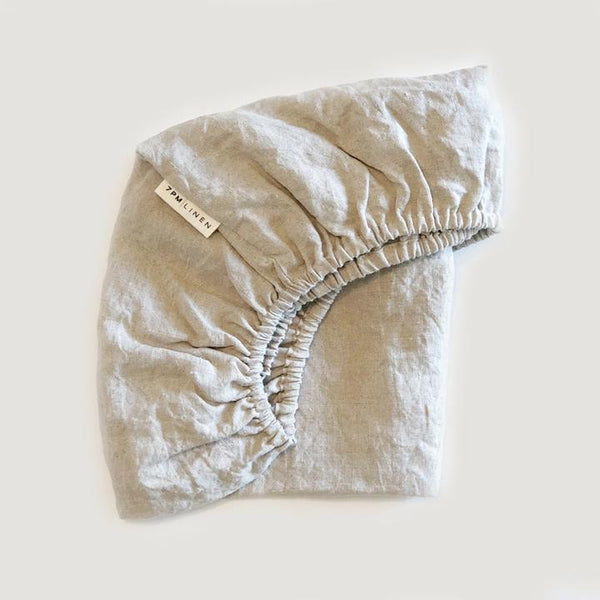 Fitted Sheet | Small Bassinet | 7PM LINEN