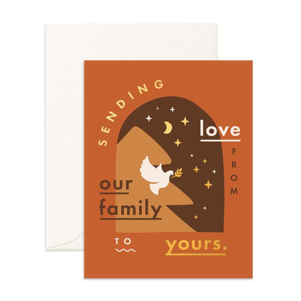 Sending Love Window | Card