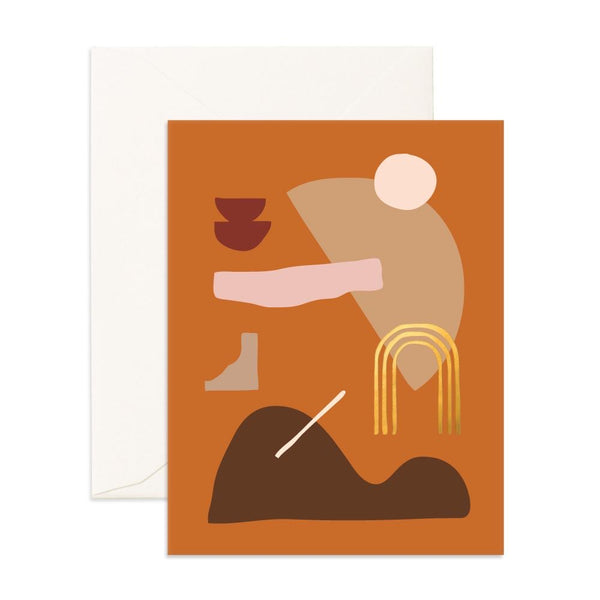 Ginger Composition | Card