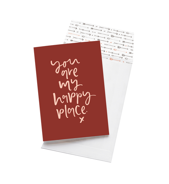 You Are My Happy Place | Card