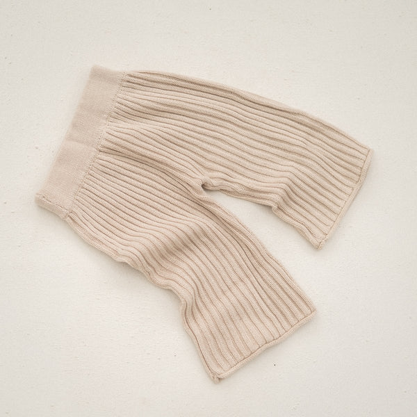 Essential Knit Pant | Biscuit