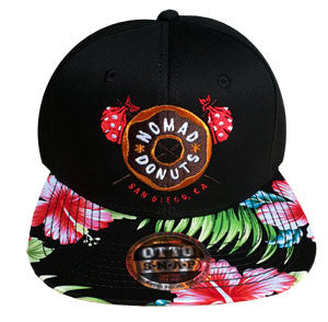 Brown Donut Hawaiian Snapback