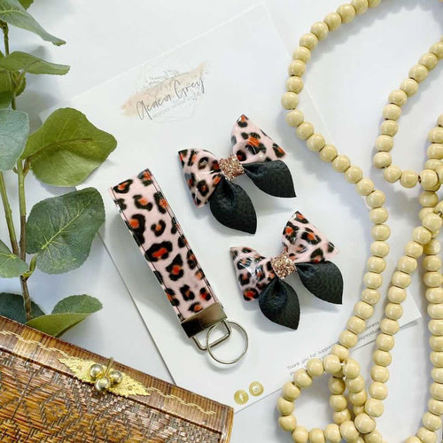 LITTLE WOLFIE x ACACIA GREY STUDIO Luxe Leopard Accessories Set