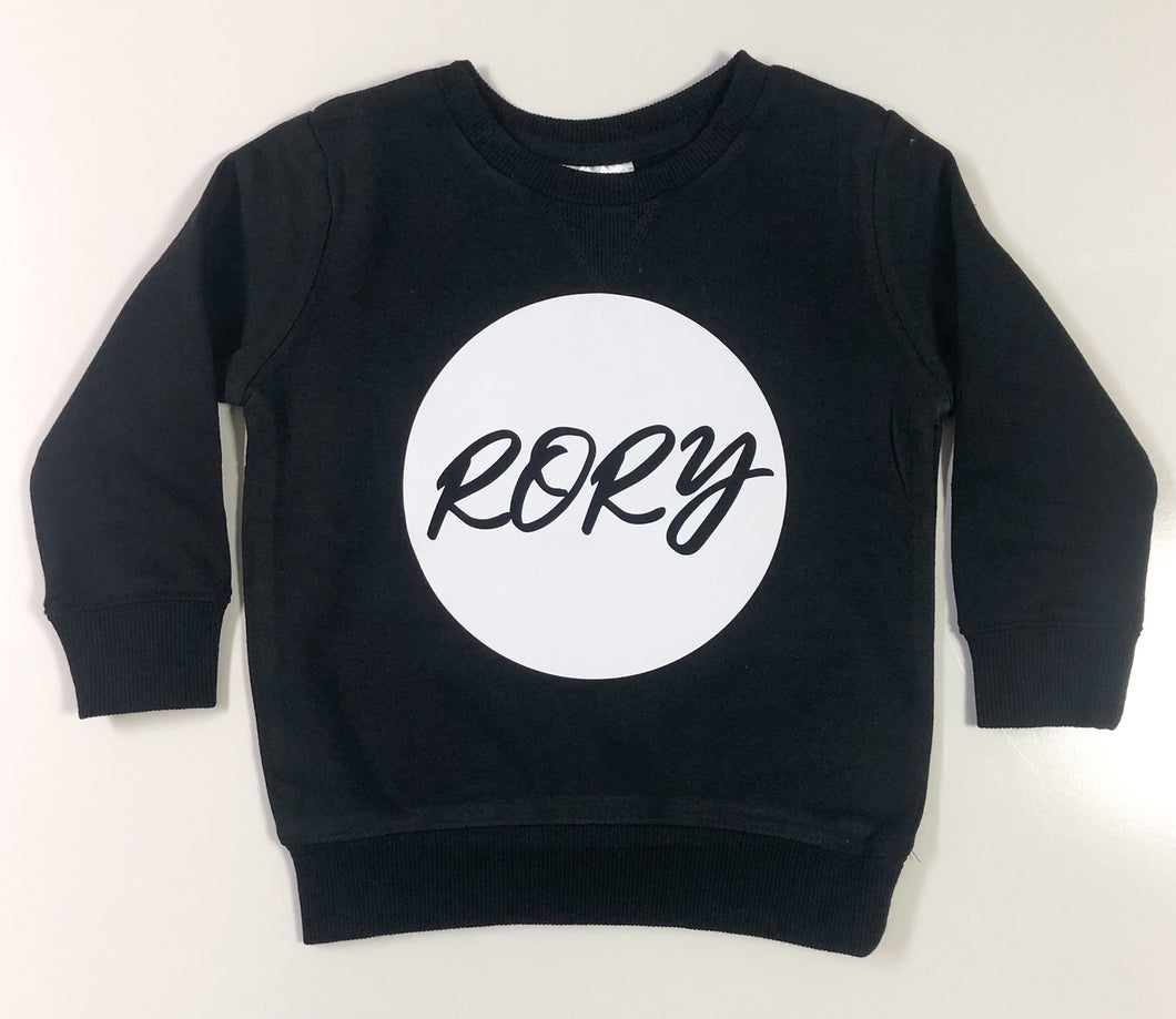 Personalised Crew Jumper