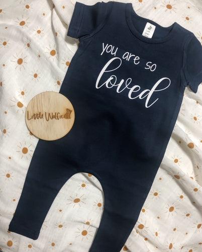 You Are So Loved Romper