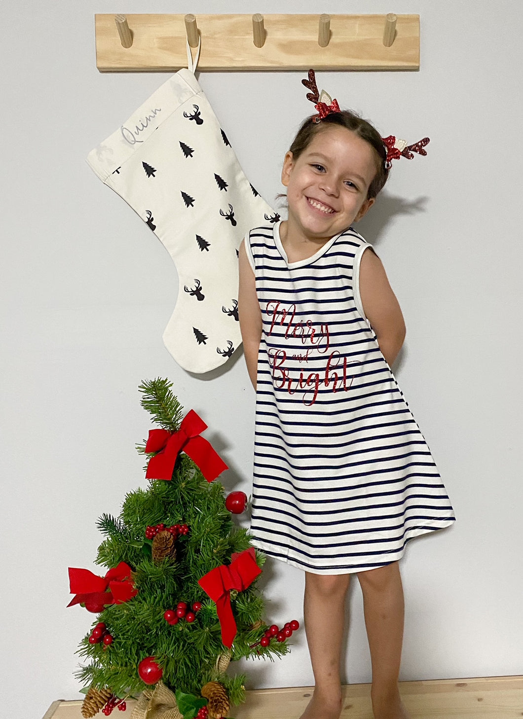 Merry and Bright Christmas Dress