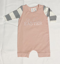 Easter Pyjamas Striped Sleeve Romper