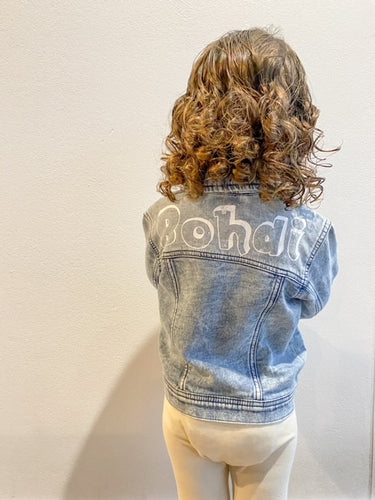 Kids Personalised Denim Jacket