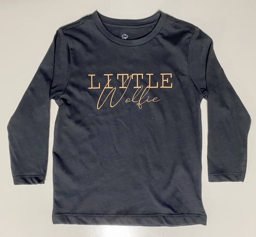Little Wolfie Long Sleeve Top