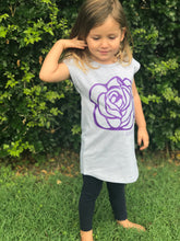 Wolfie Rose Tee Dress