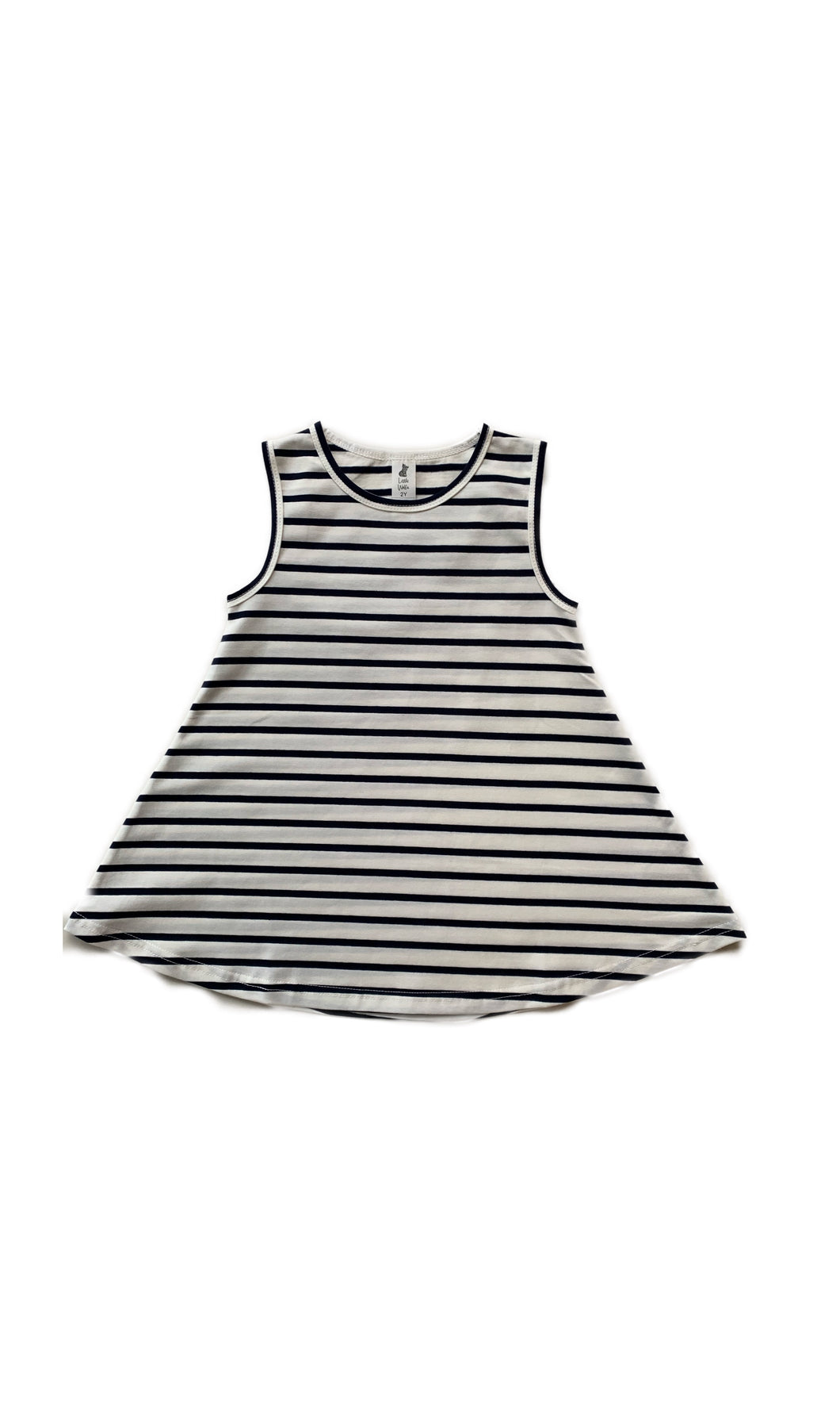 Wolfie Swing Dress - Stripe