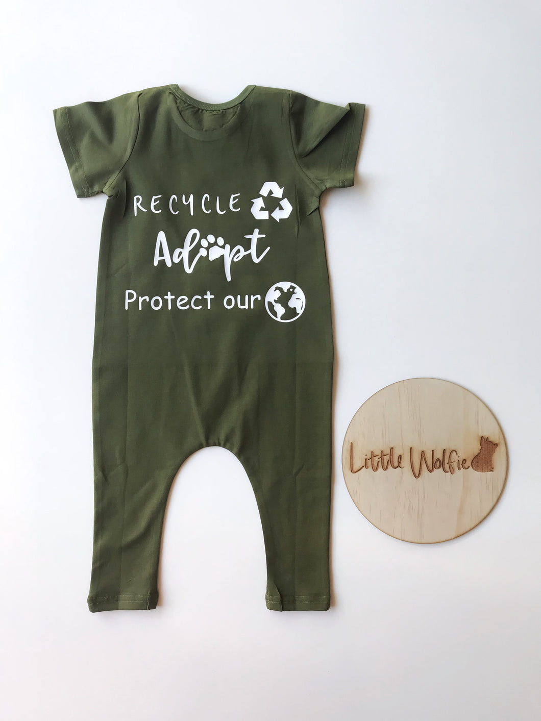 Protect our Planet Rompers