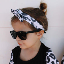 Leopard Topknot Headbands