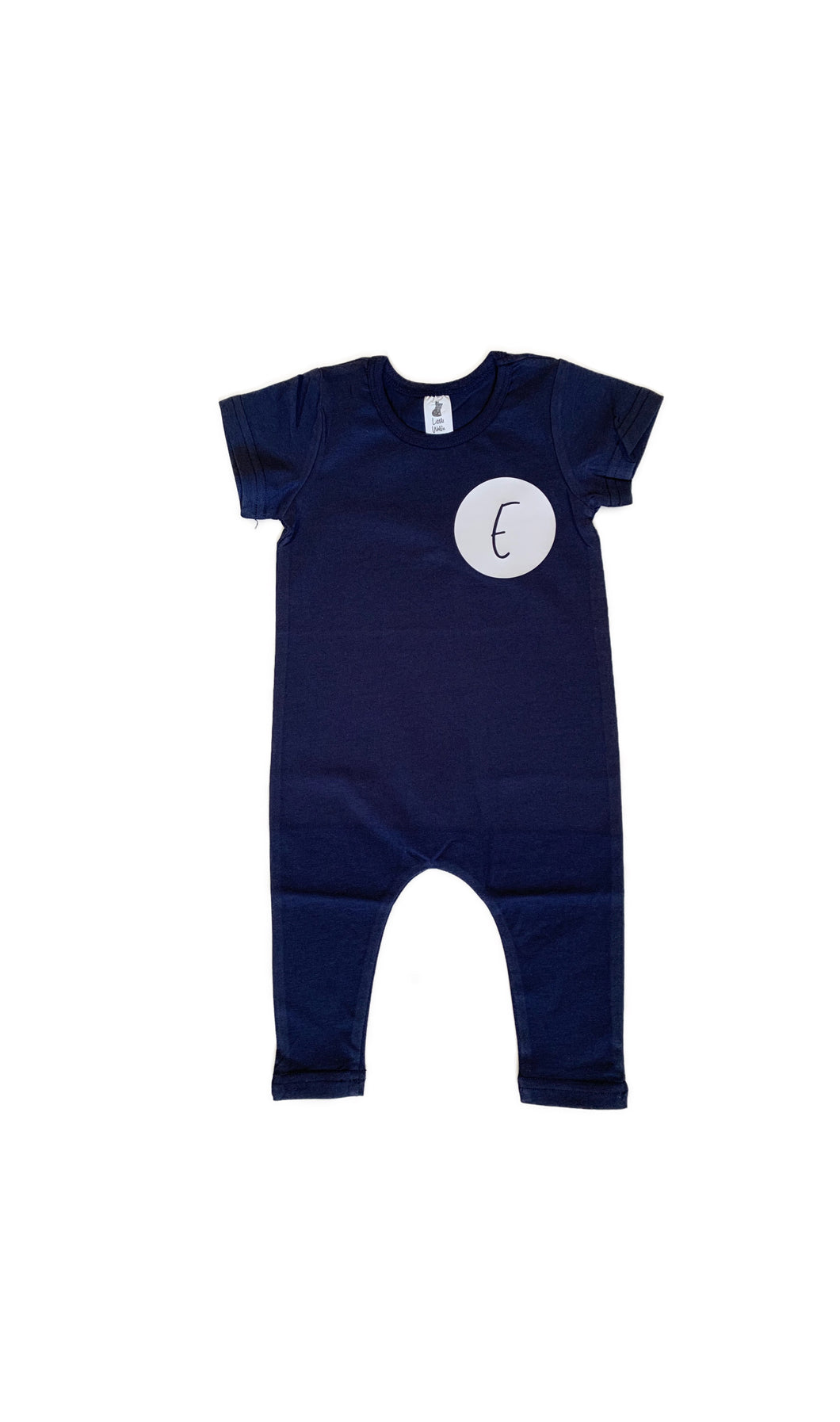 Personalised Initial Small Circle Romper