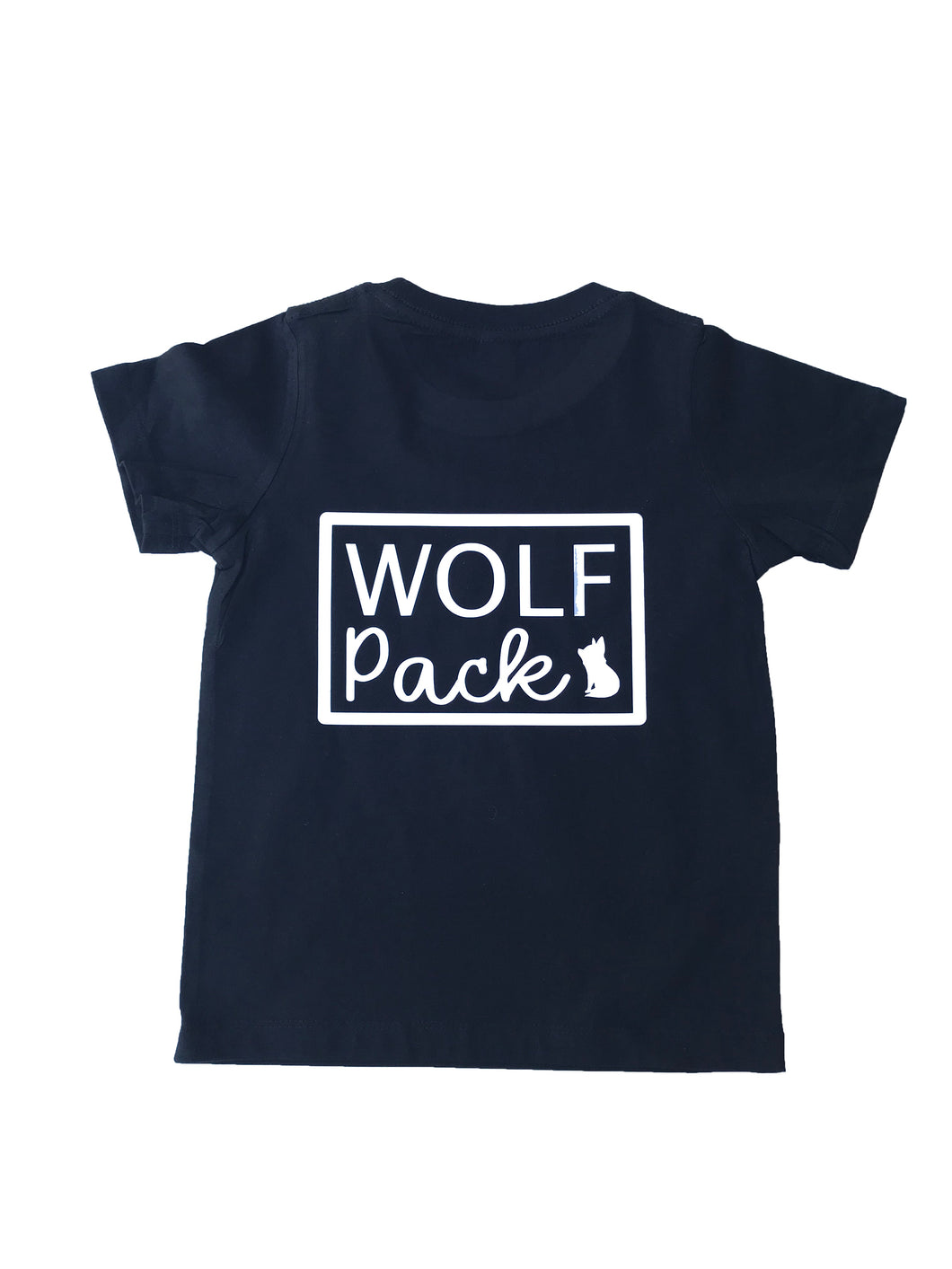 Wolf Pack Tee - personalised tees for toddlers australia