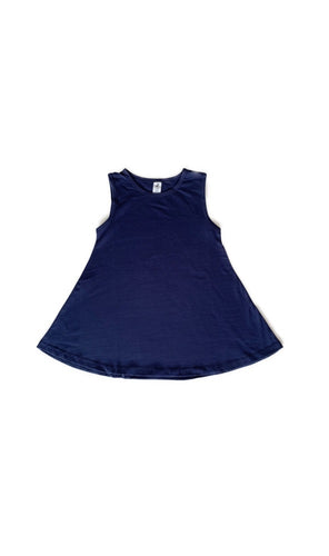 Wolfie Swing Dress - Navy