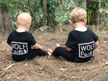 Wolf Pack Romper Twin Pack