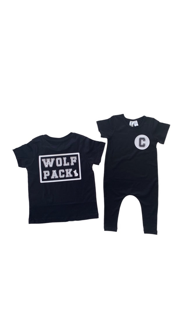 Wolf Pack Kids Set COLLEGE Design