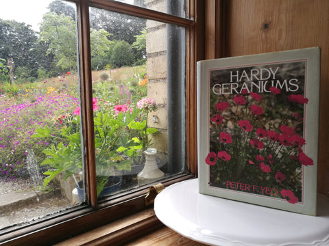 Hardy Geraniums by Peter F. Yeo