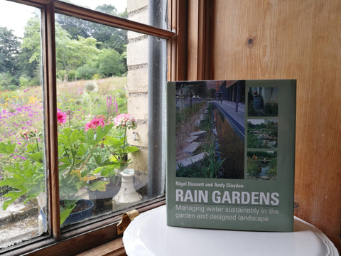 Rain Gardens: Managing Water Sustainably in the Garden and Designed Landscape by Nigel Dunnett and Andy Clayden